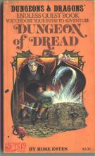 Couverture de Dungeon of Dread